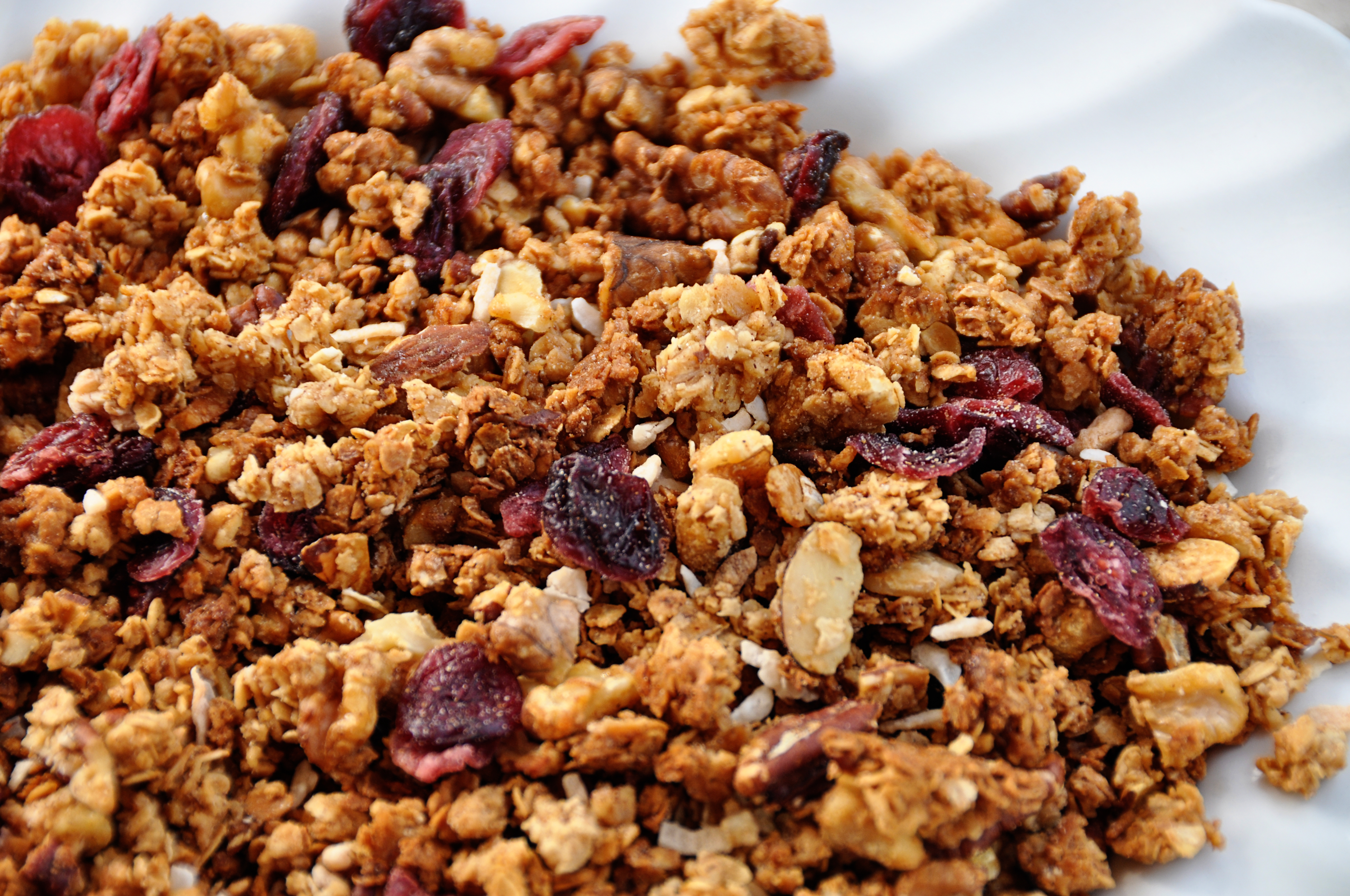 Bakery Wallpaper Hd Granola With Nuts And Dried Fruit Cluttercafe