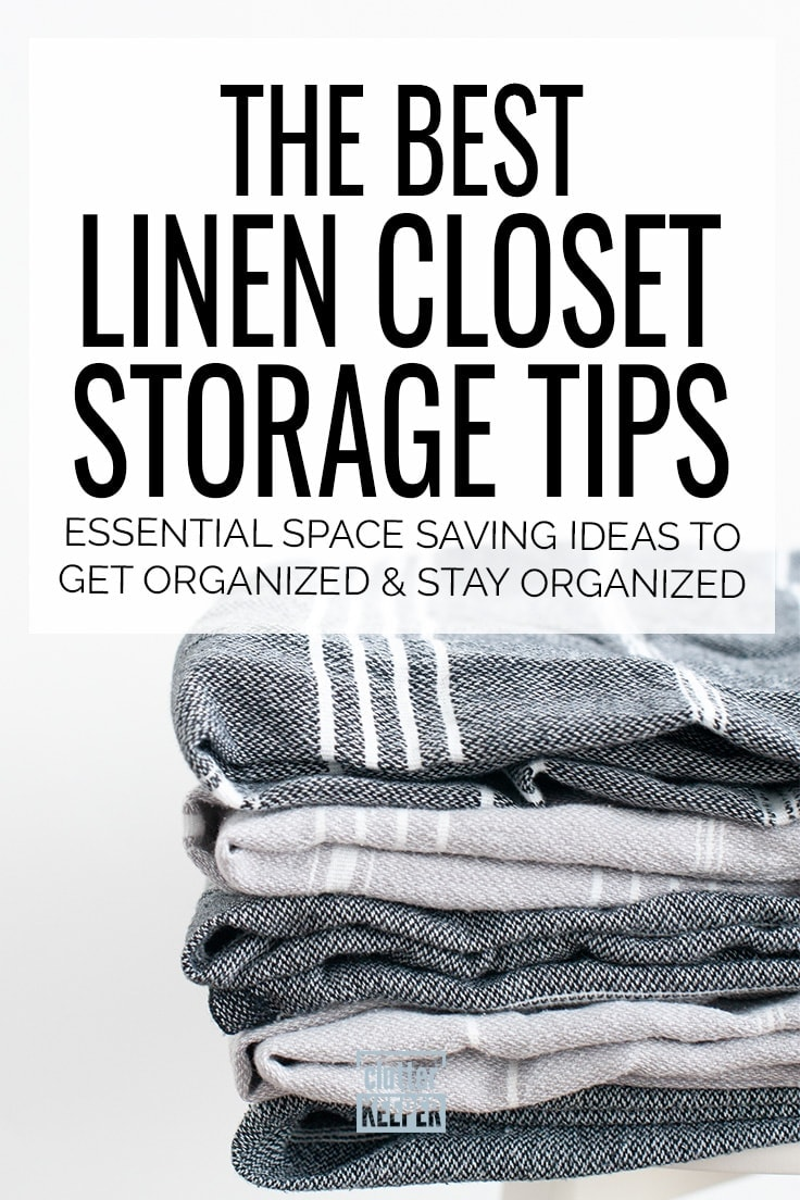 Bathroom Linen Closet Ideas Linen Closet Storage Tips How To Make More Space Clutter Keeper