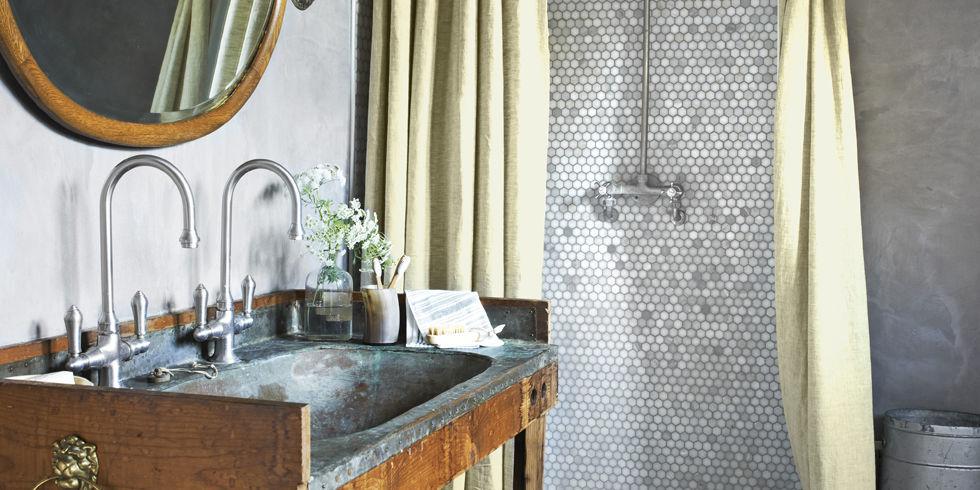 37 Rustic Bathroom Decor Ideas - Rustic Modern Bathroom Designs - small rustic bathroom ideas