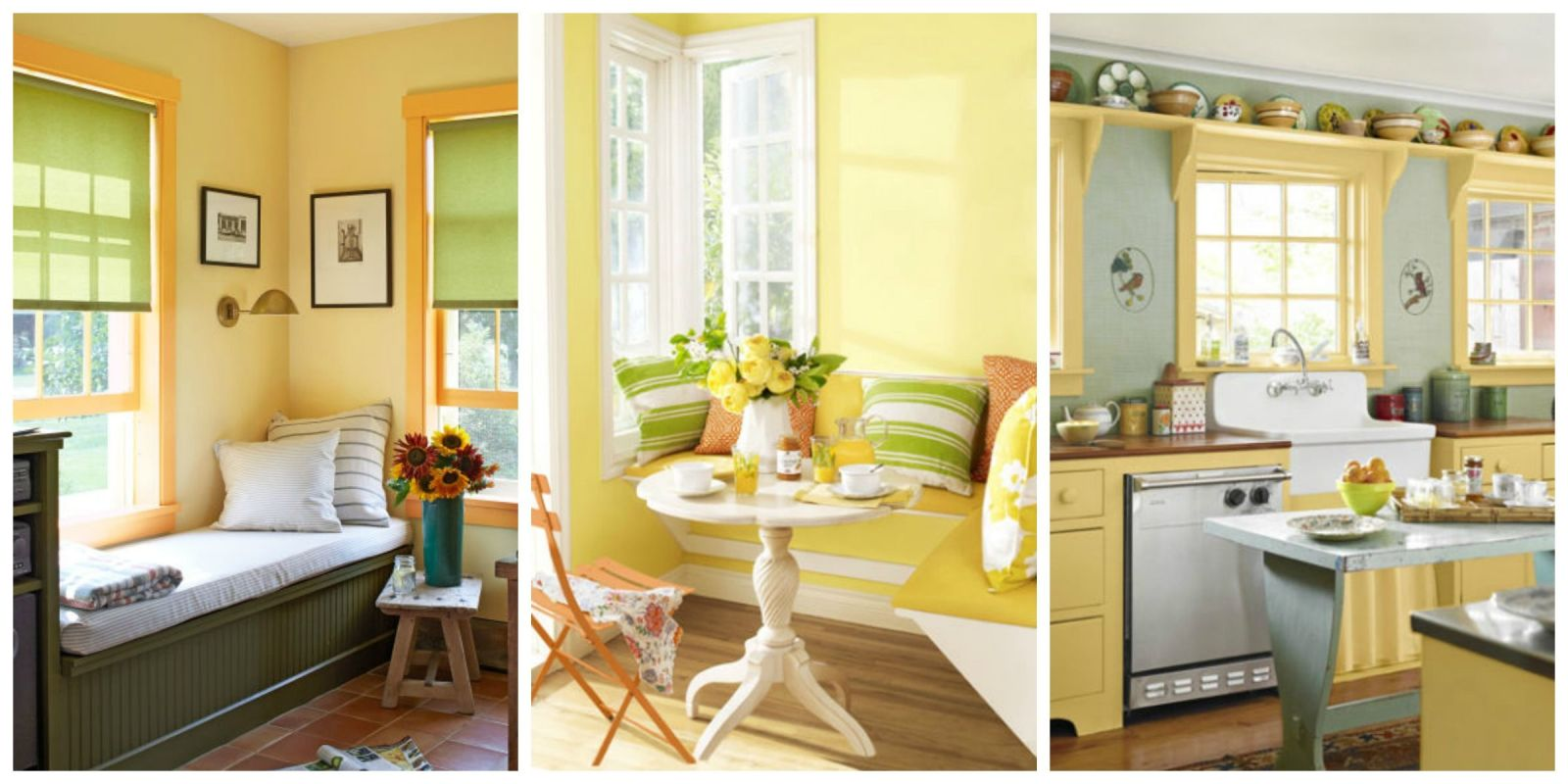 Yellow Accents Home Decor Yellow Decor Decorating With Yellow