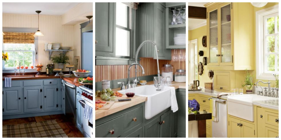 15+ Best Kitchen Color Ideas - Paint and Color Schemes for Kitchens - decorating ideas for kitchen