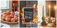 40 Easy DIY Thanksgiving Decorations - Best Ideas for ...