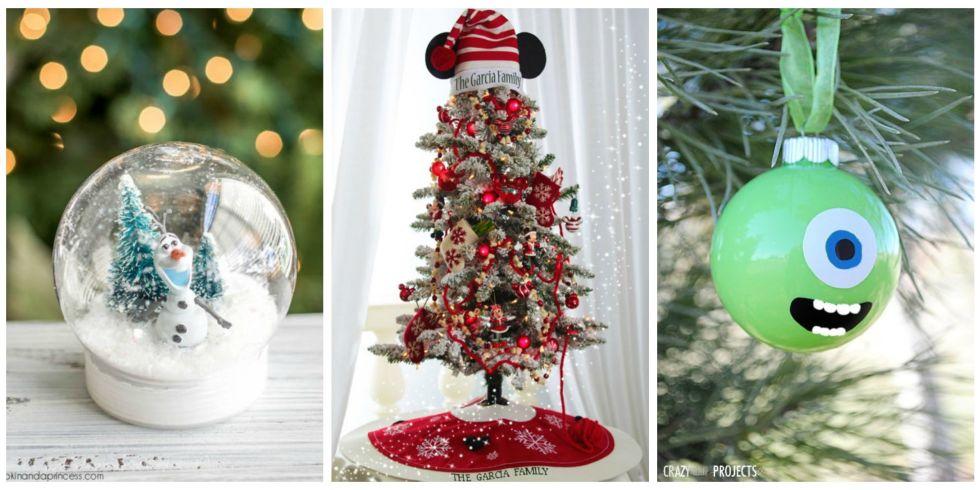 Disney Christmas Decorations - DIY Disney Christmas - disney christmas decorations