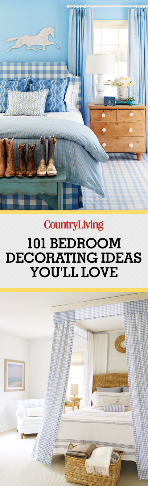 100+ Bedroom Decorating Ideas in 2017 - Designs for Beautiful Bedrooms - decor ideas for bedroom