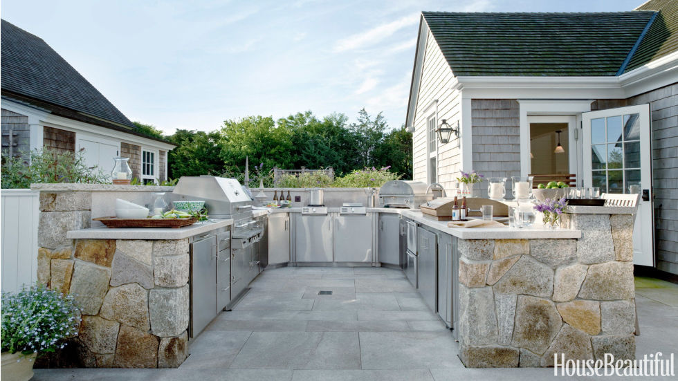 15 Best Outdoor Kitchen Ideas and Designs - Pictures of Beautiful - outside kitchen designs