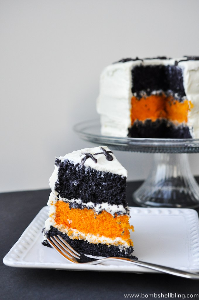 61 easy halloween cakes recipes and halloween cake decorating ideas 43 decorated halloween - Simple Halloween Cake Decorating Ideas