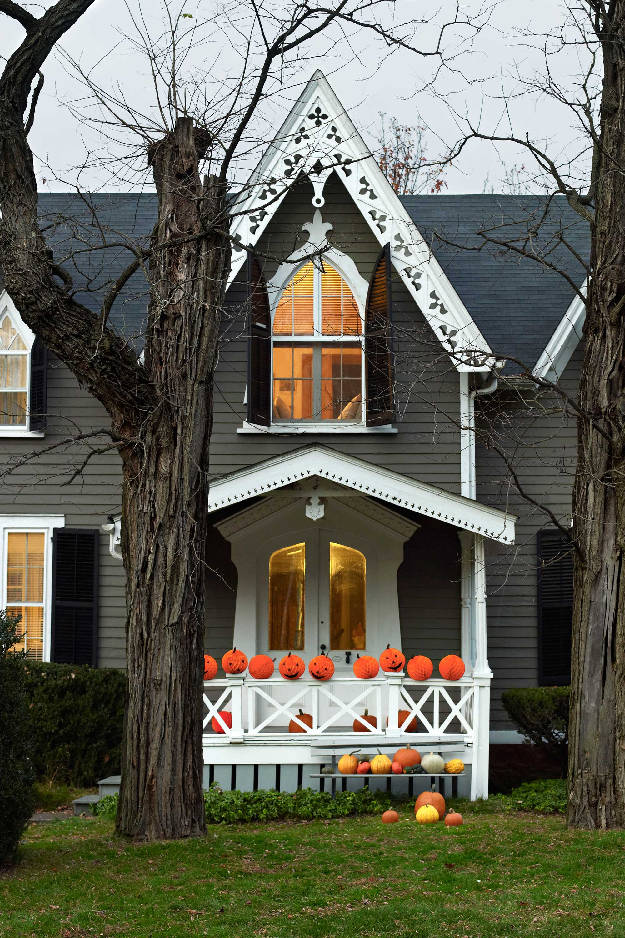 decoration ideas easy halloween yard and porch download - Halloween Outside Decor