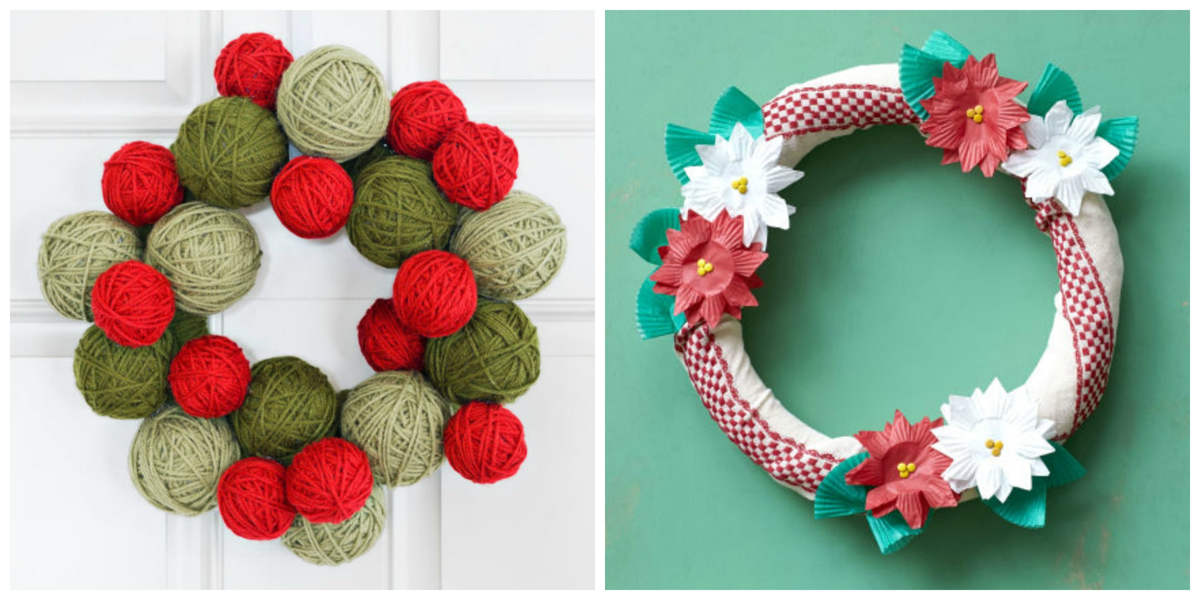 Weihnachtskranz Basteln 40 43 Diy Christmas Wreath Ideas How To Make Holiday