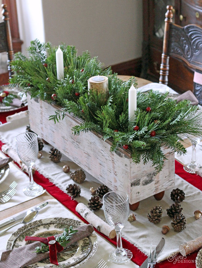 49 Best Christmas Table Settings - Decorations and Centerpiece - christmas floral decorations