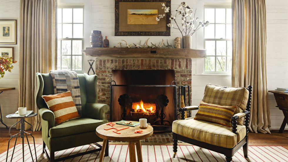 30 Cozy Living Rooms - Furniture and Decor Ideas for Cozy Rooms - country living room furniture