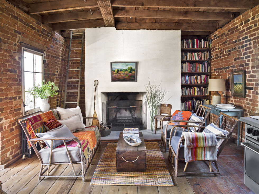 30 Cozy Living Rooms - Furniture and Decor Ideas for Cozy Rooms - country living room sets