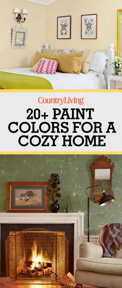 23 Warm Paint Colors - Cozy Color Schemes - cozy living room colors