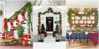 60 Best Christmas Garland Ideas - Decorating with Holiday ...