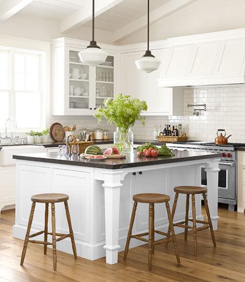 Kitchen Counters - Design Ideas for Kitchen Countertops - kitchen countertop ideas