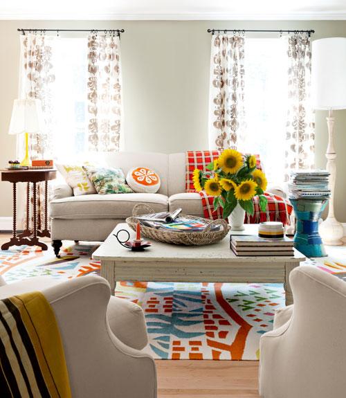 100+ Living Room Decorating Ideas - Design Photos of Family Rooms - cheap living room decor
