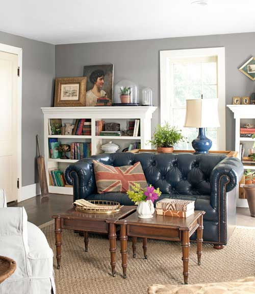 100+ Living Room Decorating Ideas - Design Photos of Family Rooms - vintage living room ideas