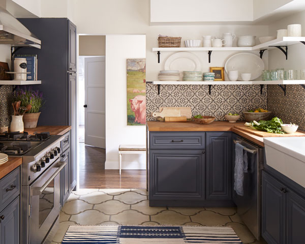 100+ Kitchen Design Ideas - Pictures of Country Kitchen Decorating - small country kitchen ideas