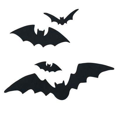 Bat Template Halloween Black Bat Icon Set Best 25+ Bat Silhouette - bat template