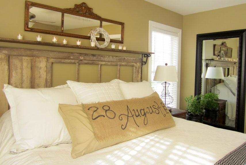 DIY Romantic Bedroom Decorating Ideas - Country Living - diy ideas for bedrooms