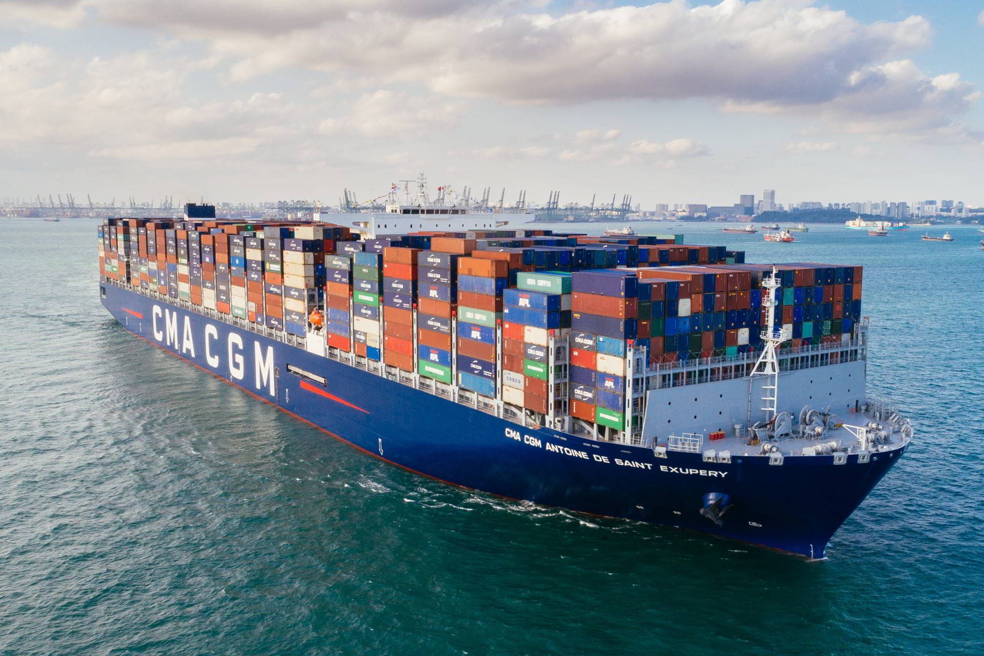 Container Oldenburg Cma Cgm Freight Shipping Companies Full Steam Ahead