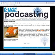 podcasting learning page