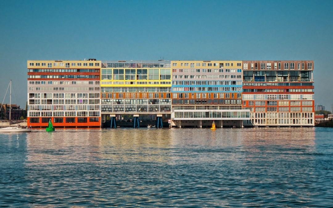 Silodam block in Amsterdam