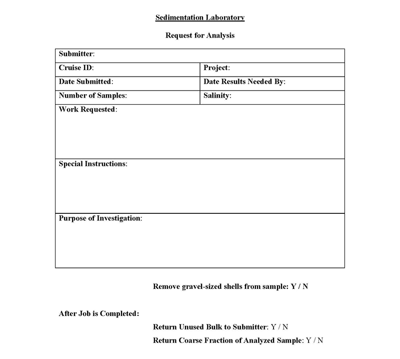 USGS Open-File Report 2005-1001 Grain-Size Analysis Request Form
