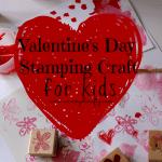 Crafty Quickie: Valentine's Day Stamping Fun!
