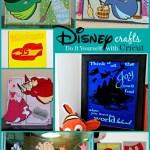 DIY Disney Crafts with Cricut's Disney Cartridges and the new FROZEN Bundle
