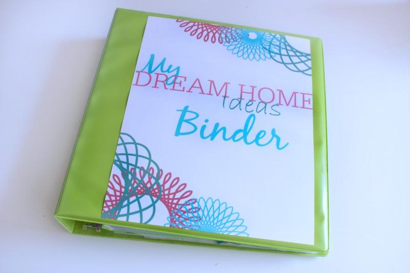 My Dream Home Binder  Pretty Printables - C\u0027mon Get Crafty