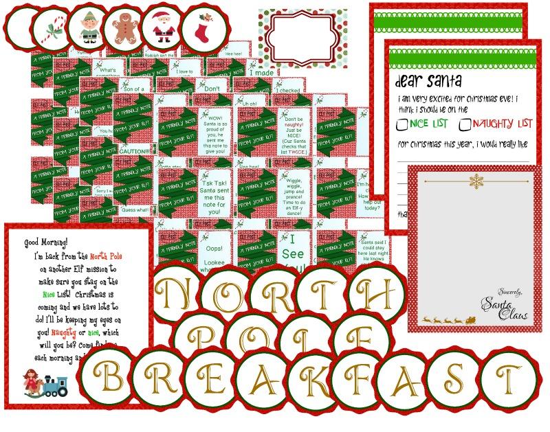 40 Elf on the Shelf Ideas PLUS Free Printables!! - C\u0027mon Get Crafty