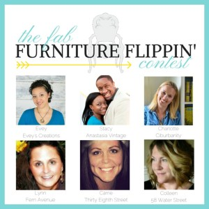 Fab Furniture Flippin' Contest: Pure & Original Hutch Makeover