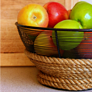 DIY Rope and Wire Basket {Create and Share Challenge}