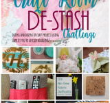 Craft Room De-Stash Challenge {March}