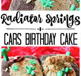 Disney's CARS Radiator Springs Birthday Cake