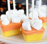 Candy Corn Hot Chocolate Stirrers {MM #177}