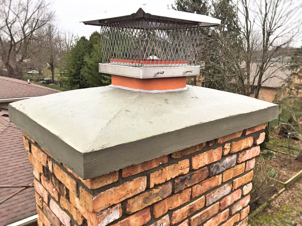 Fireplace Repair Nashville Tn Crown Repair Replacement Nashville Chimney Masonry Outfitters