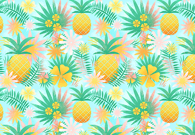 Android 3d Wallpaper Tutorial How To Create And Apply A Tropical Seamless Pattern In