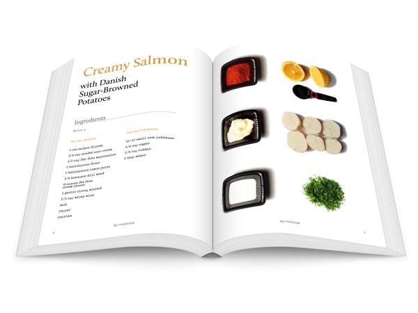 create a recipe book template