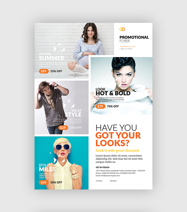 10 Design Tips to Make a Professional Business Flyer - promotional flyer designs