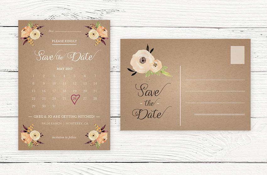 How to Create a Stylish \u0027Save the Date\u0027 Card in Adobe InDesign