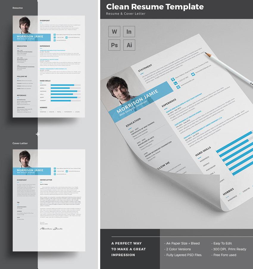 cv template inline