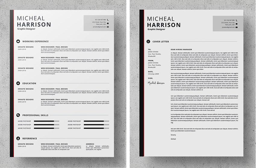50+ Professional Resume  CV Templates