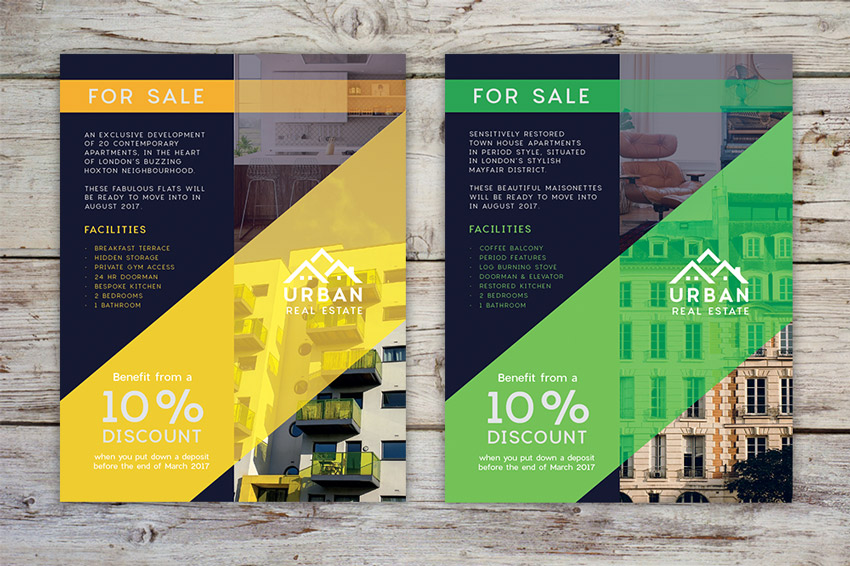 How to Design a Stylish Real Estate Flyer Template in Adobe InDesign