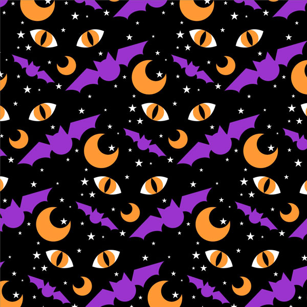 Wallpapers 3d Hello Kitty Gratis How To Create An Easy Halloween Pattern In Coreldraw