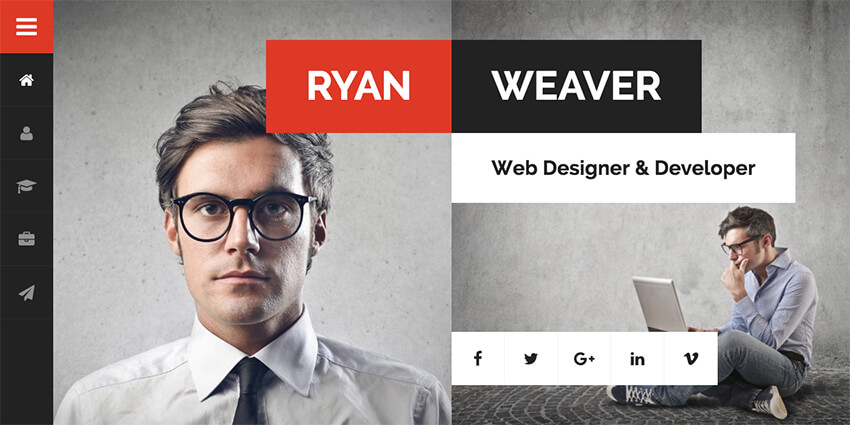 20+ Best WordPress Resume Themes For Your Personal Website - resume wordpress theme
