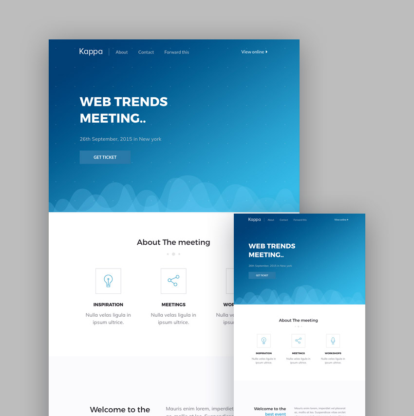 19+ Best MailChimp Responsive Email Templates for 2018 Newsletters