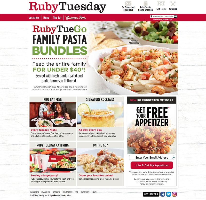 25+ Best Restaurant  Cafe Website Designs (For Visual Ideas) - restaurant menu project examples