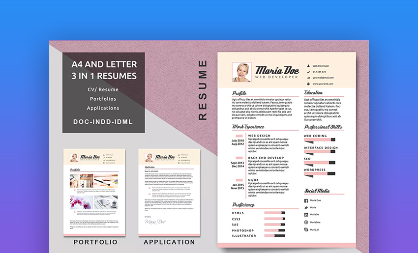 20 Top Visual Resume Templates for Artists  Creatives for 2019