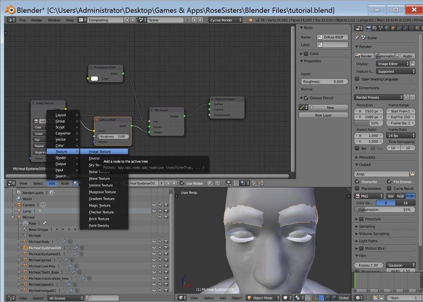 Adding textures